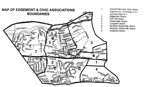 Civic Associations Boundaries
