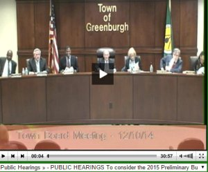 2014-12-10 Town Board Meeting