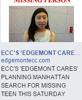Edgemont Cares Search for Christine Kange